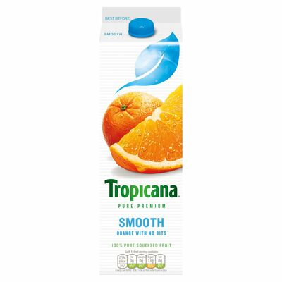 Tropicana Orange Juice Smooth 950ml