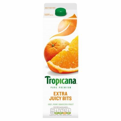 Tropicana Orange Extra Juicy Bits 950ml