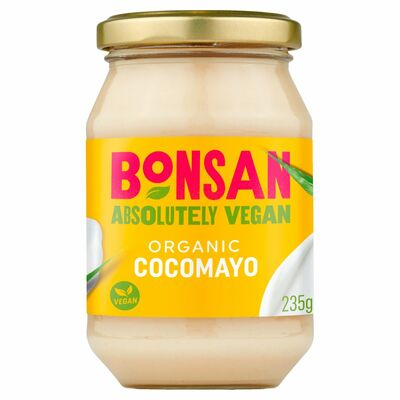 Bonsan Organic Coco Mayo Vegan With Coconut Oil 235g