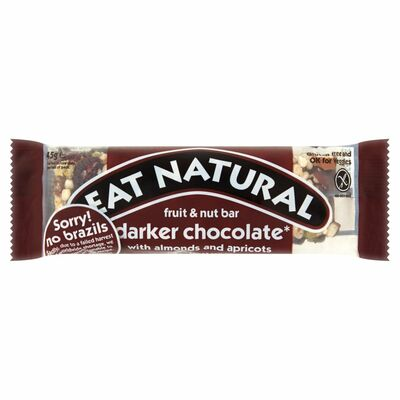 Eat Natural Darker Chocolate & Brazil Nuts 45g