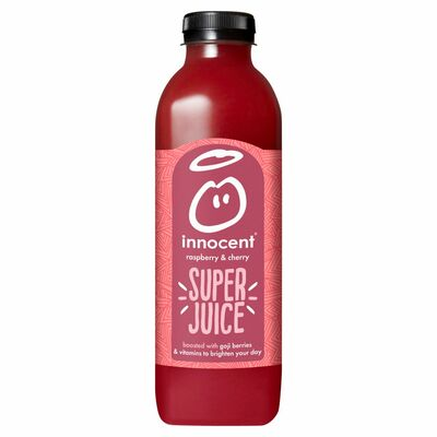 Innocent Raspberry & Cherry Super Juice 750ml