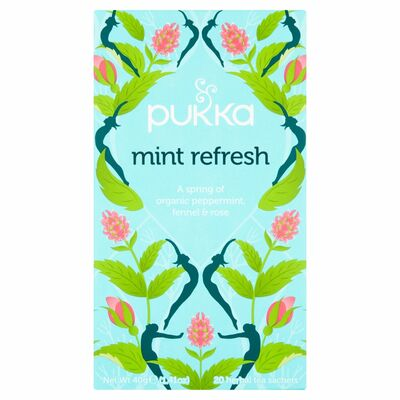 Pukka Mint Refresh 20 Herbal Tea 40g