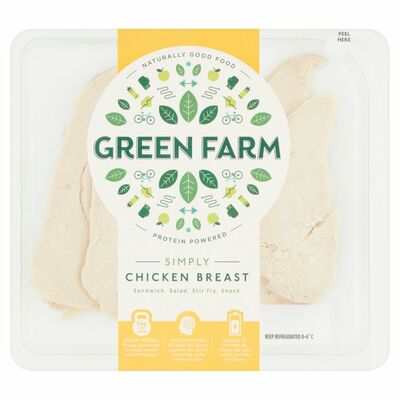 Green Farm Roast Chicken Sliced 100g