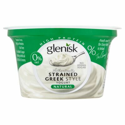 Glenisk Greek Style Protein Natural Single 150g