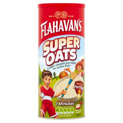Flahavan's Super Oats Drum 480g