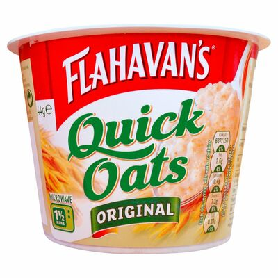Flahavan's Quick Oats Original Pot 44g