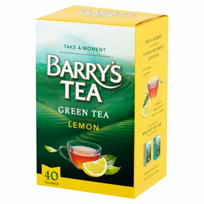 Barry's Tea Natural GreenLemon 40 Pack 80g