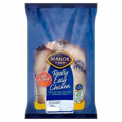 MANOR FARM COOK IN A BAG CHICKEN 1.6KG
