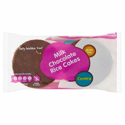 Centra Milk Chocolate Rice Cakes 100g
