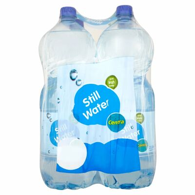 Centra Still Water Bottle Pack 4 x 2ltr