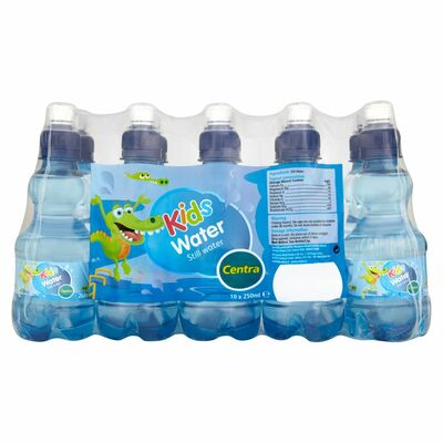 Centra Kids Still Water Bottle Pack 10 x 250ml