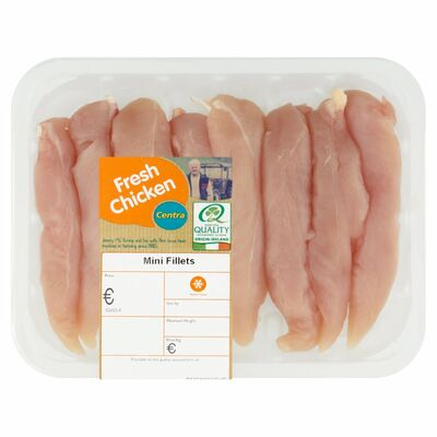CENTRA FRESH IRISH CHICKEN MINI FILLETS 350G