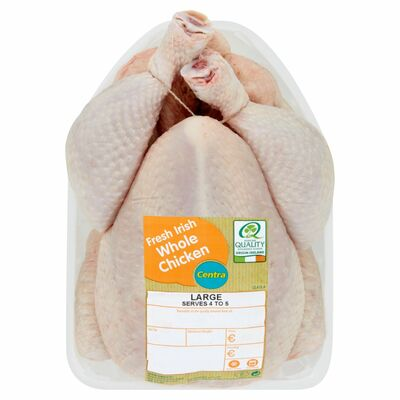 CENTRA FRESH IRISH WHOLE CHICKEN 1.9KG