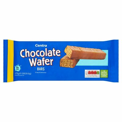 Centra 9 Chocolate Wafer Bars 19g