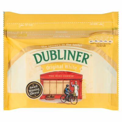 Dubliner Cheese Block White 200g