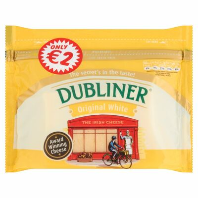 Dubliner Original White Block 200g