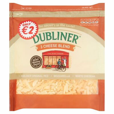 Dubliner 3 Cheese Grated 200g