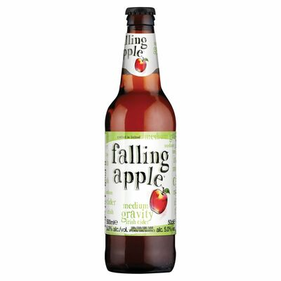 Falling Apple Medium Gravity Irish Cider 500ml