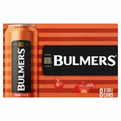 Bulmers Can Pack 8 x 500ml