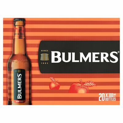 BULMERS BOTTLE PACK 20 X 300ML