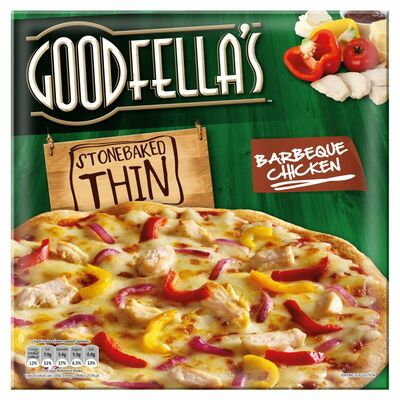 Goodfella's Stonebaked Thin Barbeque Chicken 385g