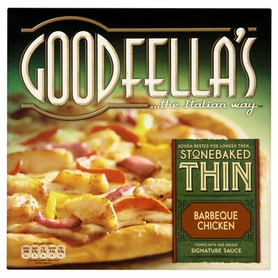 Goodfella's Stone Baked Thin Barbeque Chicken 385g