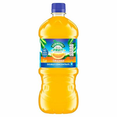 Robinsons Double Concentrate Orange No Added Sugar 1ltr