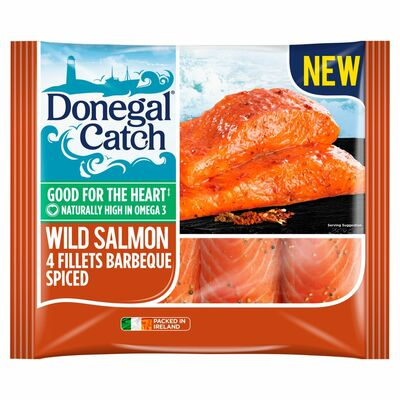 Donegal Catch 4 Wild Salmon Fillets 420g
