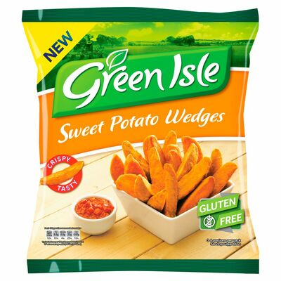 Green Isle Sweet Potato Wedge 500g