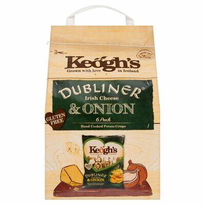 Keogh's Mature Irish Cheese & Onion Crisp 180g