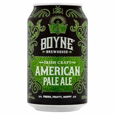 Boyne Brewhouse American Pale Ale Can 330ml