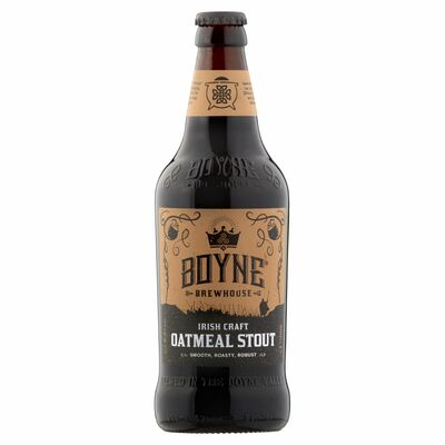 Boyne Brewhouse Oatmeal Stout 500ml