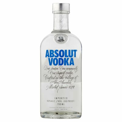 ABSOLUT VODKA BLUE 70CL