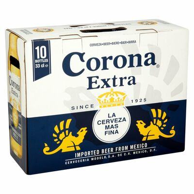 CORONA EXTRA BOTTLE PACK 10 X 330ML