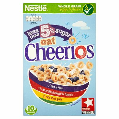 Nestlé Low Sugar Oat Cheerios Cereal 325g