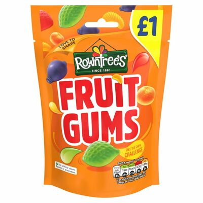 Rowntree's Fruit Gums Pouch 120g