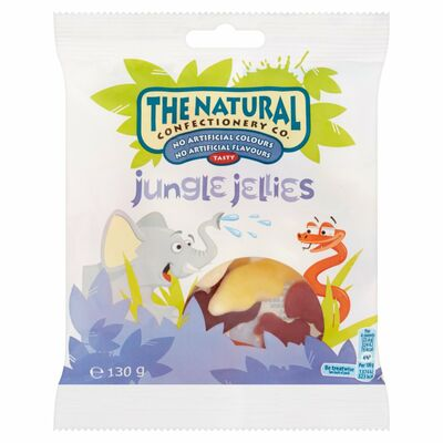 The Natural Confectionary Co Jungle Jellies 130g