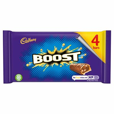Cadbury Boost 4 Pack 136g
