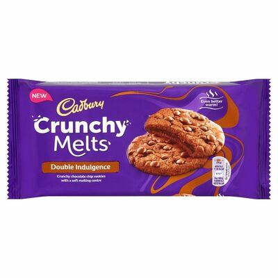 Crunchie Melts Double Indulgence Cookies 156g