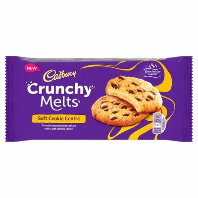 Crunchy Melts Soft Cookie 156g