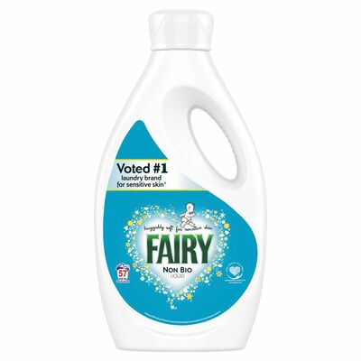 Fairy Non Bio Liquid 57 Wash 2ltr
