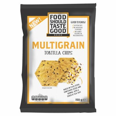 Food Should Taste Good Multigrain Tortilla Chips 150g