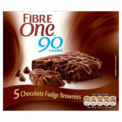 Fibre One Chocolate Fudge Brownie Bar 120g