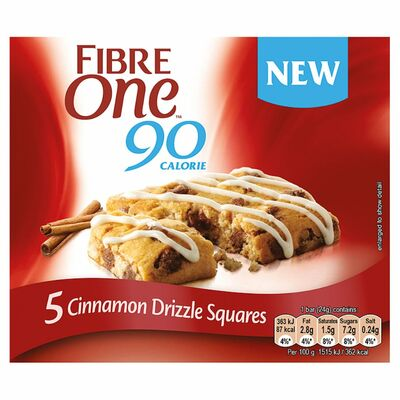 Fibre One Chocolate Cinamon Drizzle Cake 120g