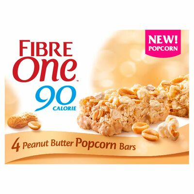 Fibre One Popcorn Peanut Bar 84g