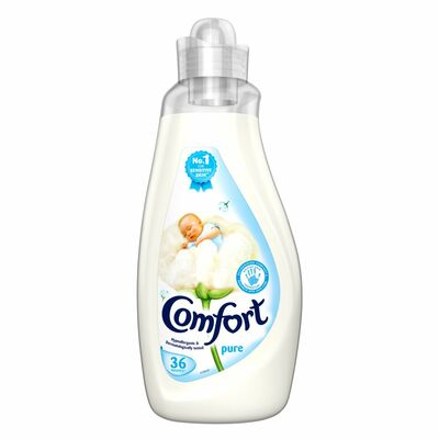 Comfort Fabric Conditioner Pure 36 Wash 1.26ltr