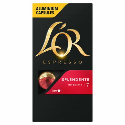 L'Or Espresso Splendente Intensity 7 Capsules 10 Pack 50g