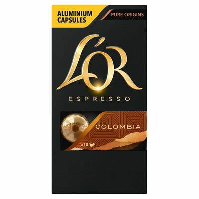L'Or Espresso Colombia Intensity 8 Capsules 10 Pack 52g