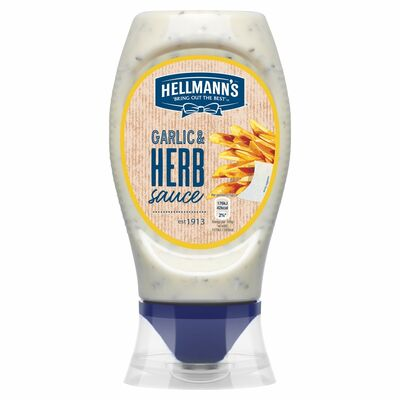 Hellmann's Garlic And Herb Table Sauce 250ml