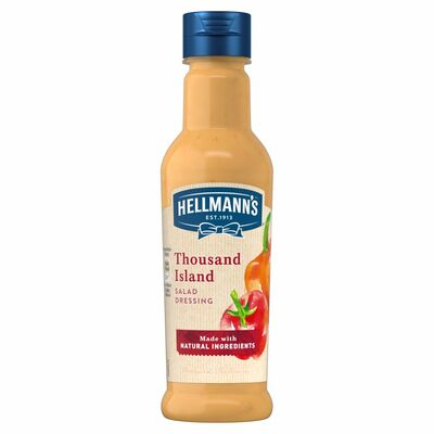 Hellmann's Thousand Island Salad Dressing 210ml